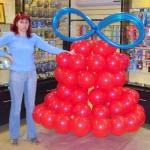 Наталёк-главная по шарикам в Нижнеудинске 2