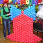Наталёк-главная по шарикам в Нижнеудинске 4