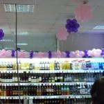 Украшение магазина в Нижнеудинске