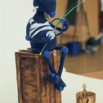 Валерьяныч на рыбалке (Ящик ведро и спиннинг всё ручная работа) (3000руб)