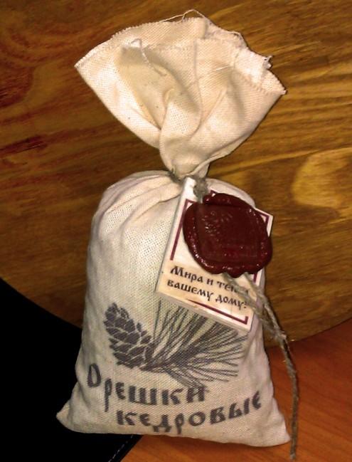 Кедровые орехи из предгорий Саян.